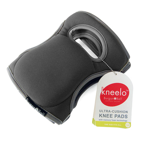 Burgon & Ball Kneelo® gardening knee pads in Slate, memory foam knee pads