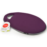 Kneelo® memory foam garden kneeler in 'Plum' colour by Burgon & Ball