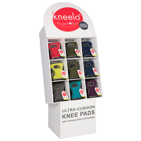 Kneelo® Knee Pads Cardboard Display Unit