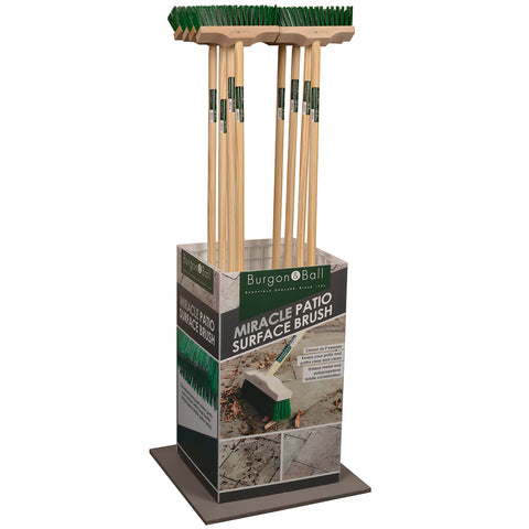 Miracle Patio Surface Cleaning Brush Display Stand