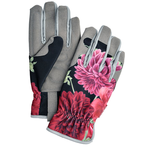 RHS Gifts for Gardeners British Bloom women's gardening gloves by Burgon & Ball, ladies' gardening gloves