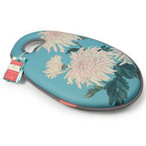 Kneelo® memory foam garden kneeler in RHS 'Chrysanthemum' design, by Burgon & Ball