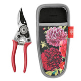 Burgon and Ball RHS Gifts for Gardeners 'British Bloom' pruner and holster set