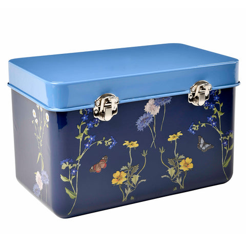 RHS Gifts for Gardeners British Meadow seed storage tin by Burgon & Ball