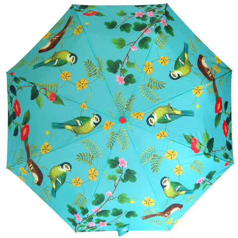 Flora and Fauna Compact Umbrella