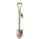 RHS-endorsed small Groundbreaker spade (garden spade) by Burgon & Ball