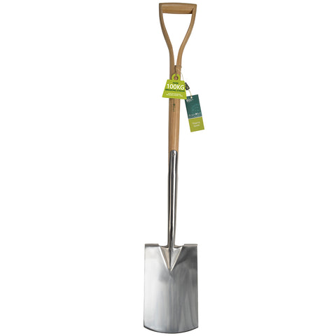 RHS-endorsed digging spade (garden spade) by Burgon & Ball