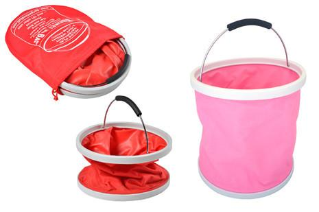 Pink Bucket ina Bag