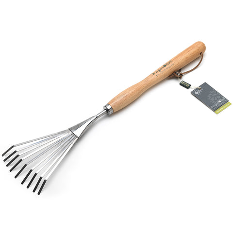 Mid Handled Shrub Rake - RHS Endorsed