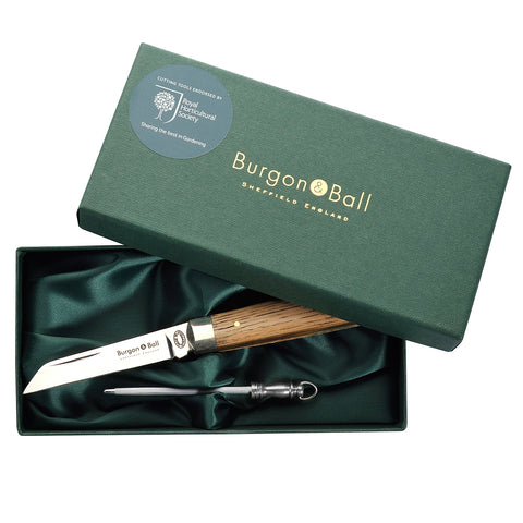 Classic Pocket Knife & Steel Gift Set