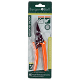 Burgon & Ball RHS-endorsed micro secateur - terracotta handles