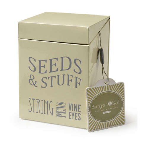 Seeds & Stuff Tin - Jersey Cream