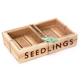 Wooden Seed Tray Set