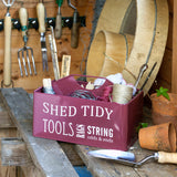 Shed Tidy - Burgundy