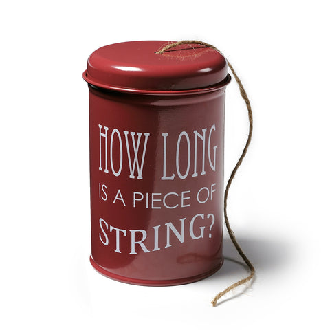 Twine in a Tin - Burgundy