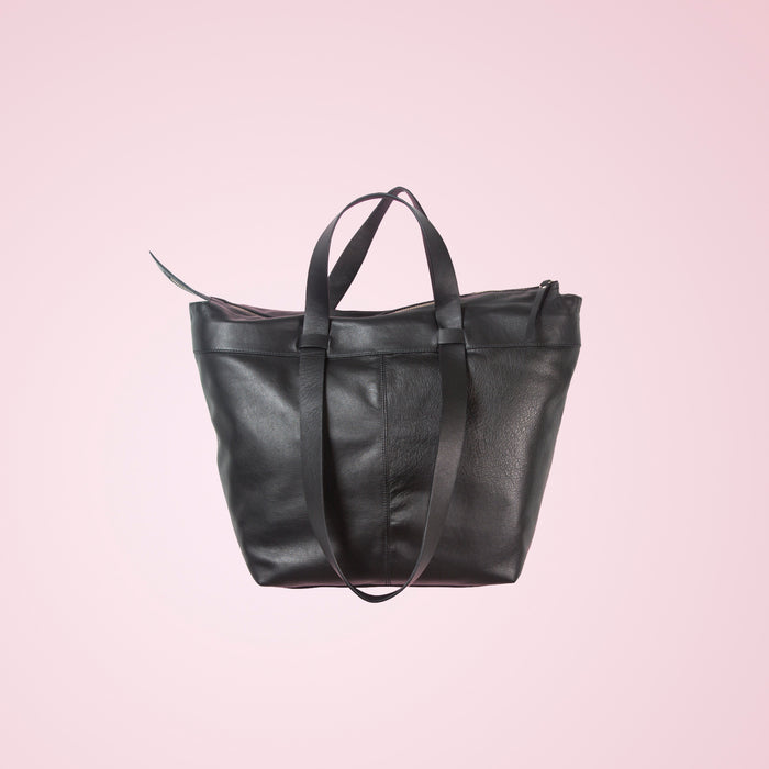 Geraldine Black Leather