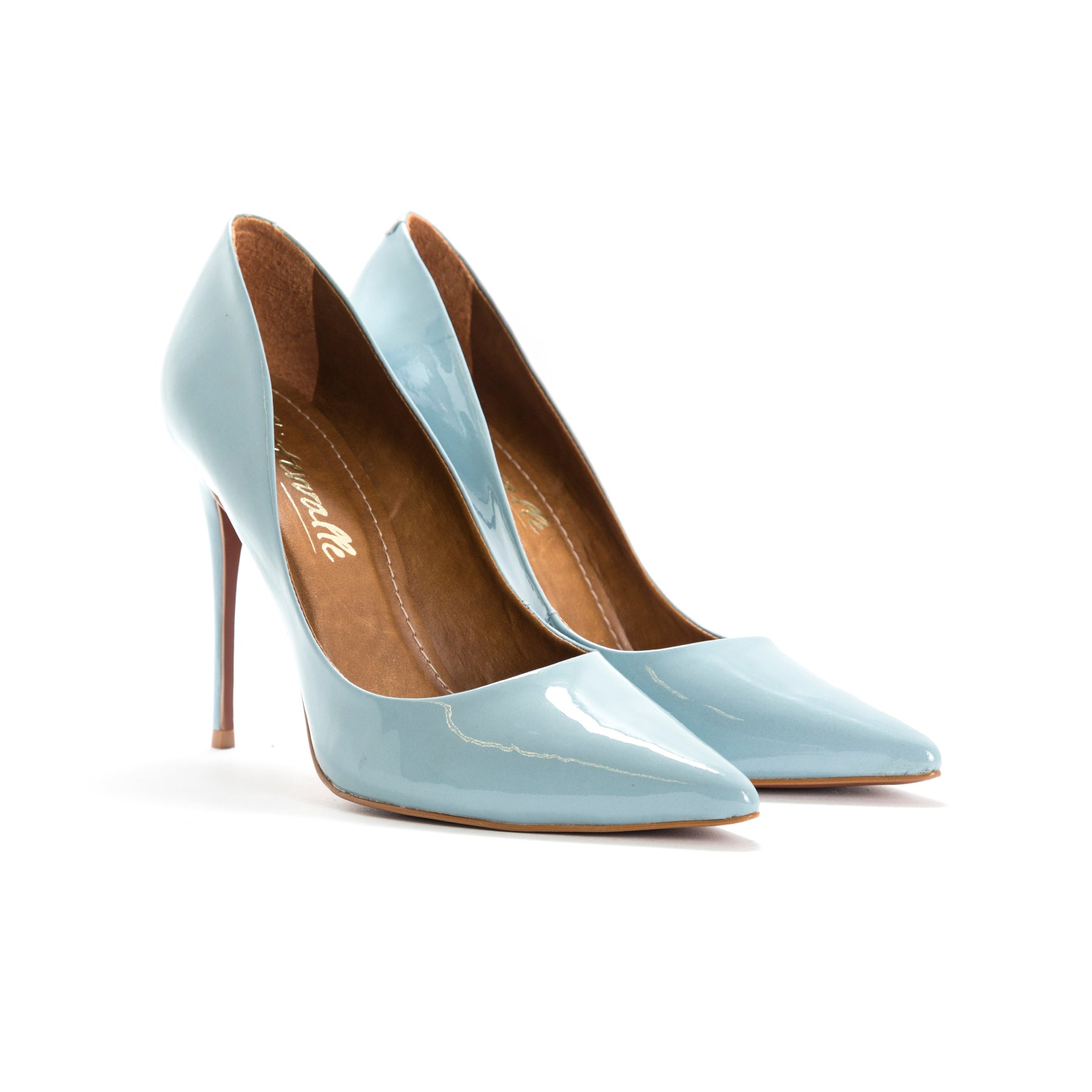 Teeva Light Blue Patent