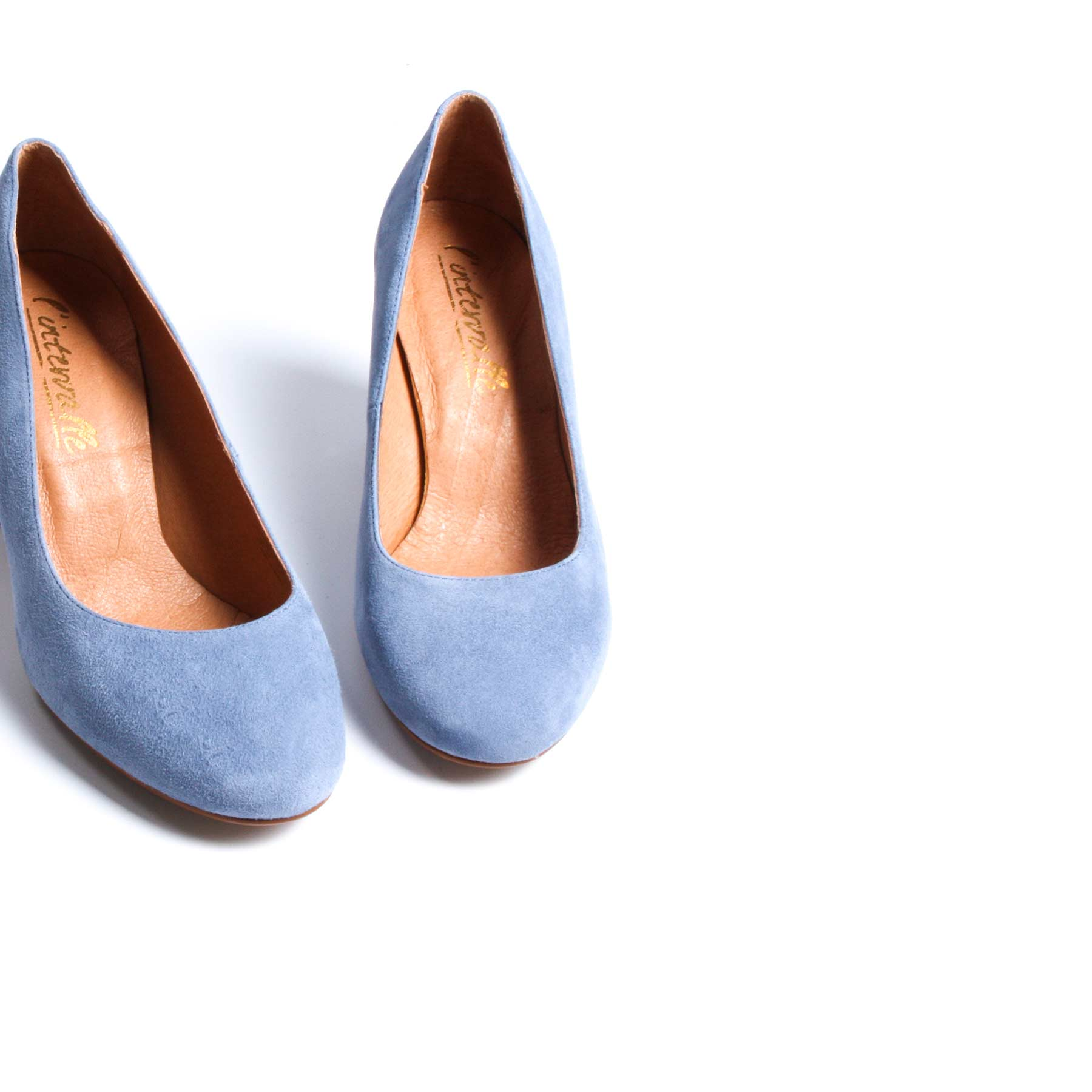 Anyl Blue Suede