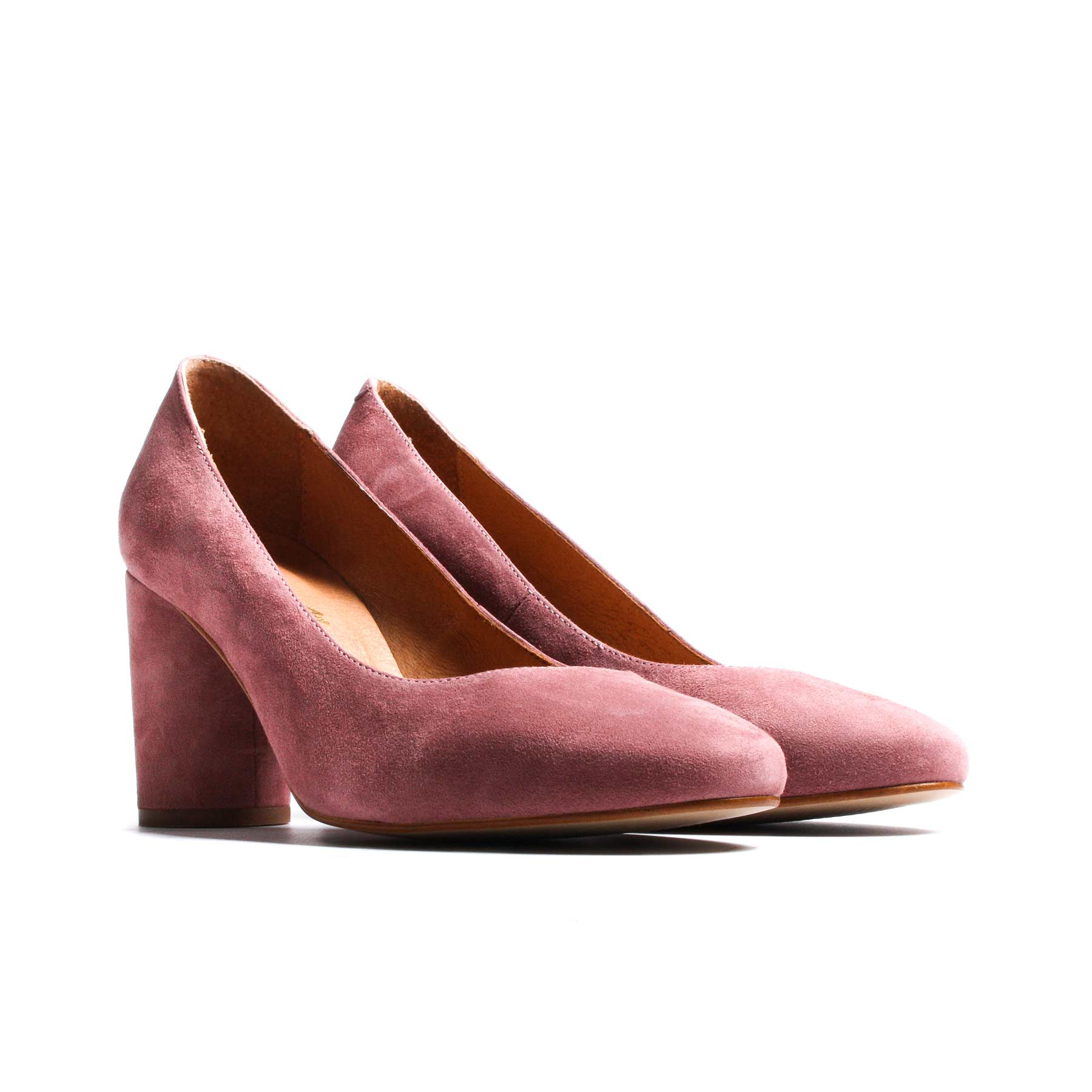 Anyl Dusty Pink Suede