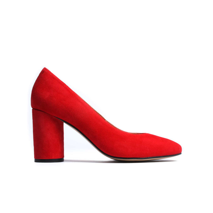 Anyl Red Suede