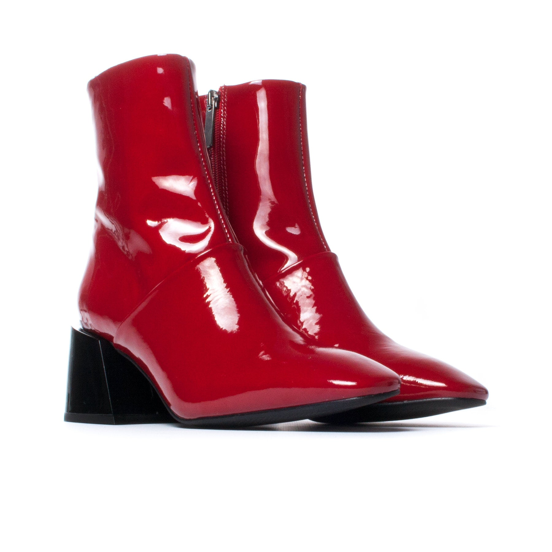 Moresby Red Patent Leather