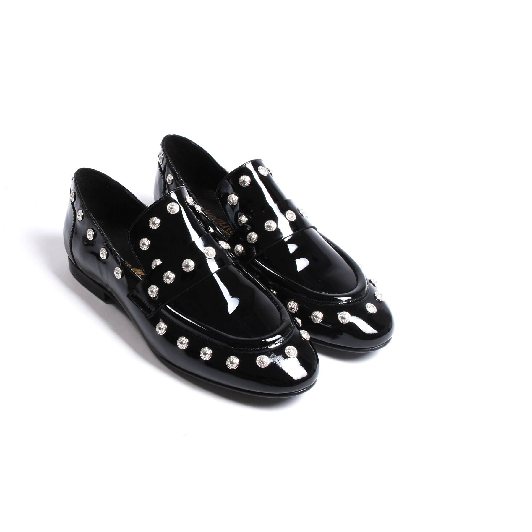 Chispas Black Patent Leather