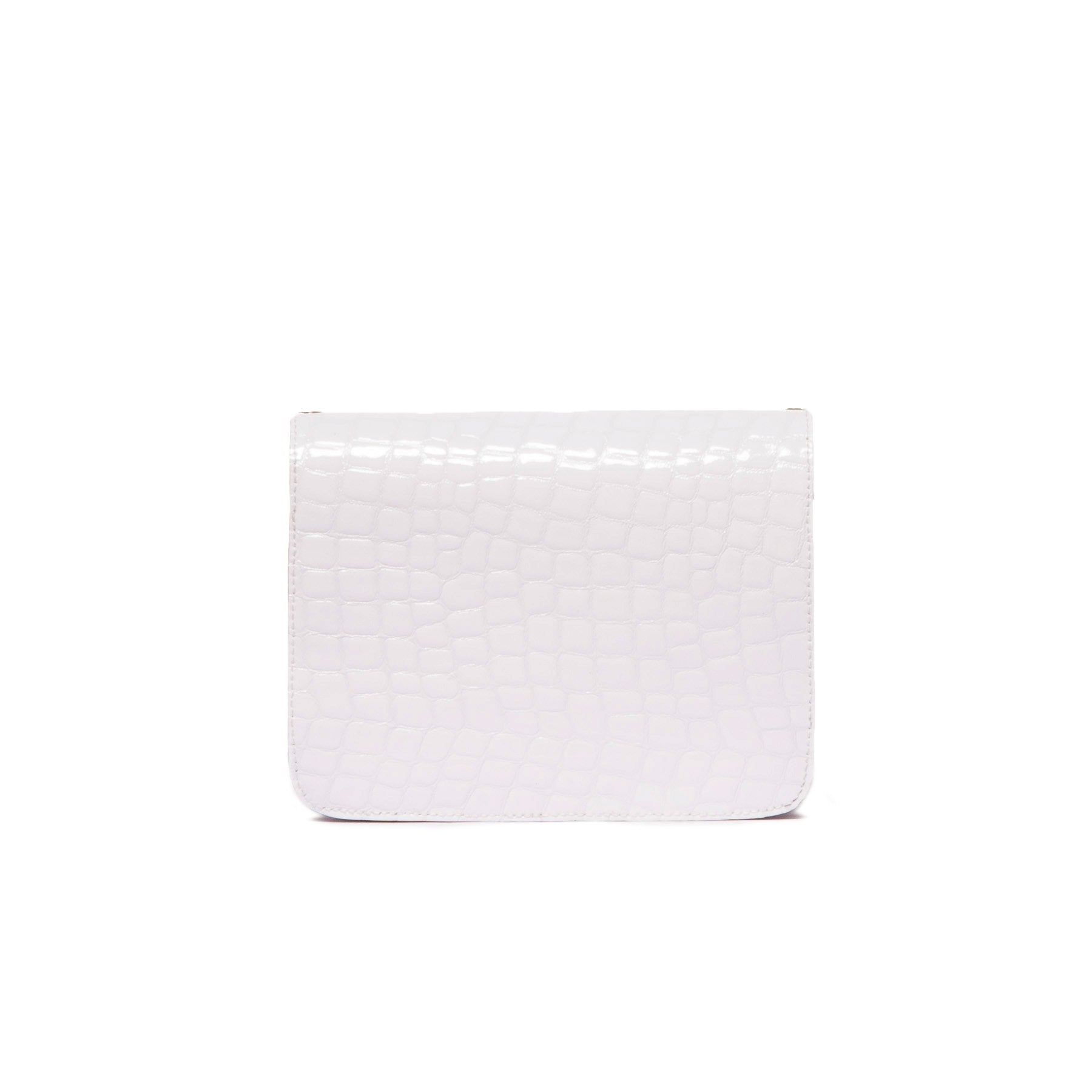 Matine White Croco Mini Bag