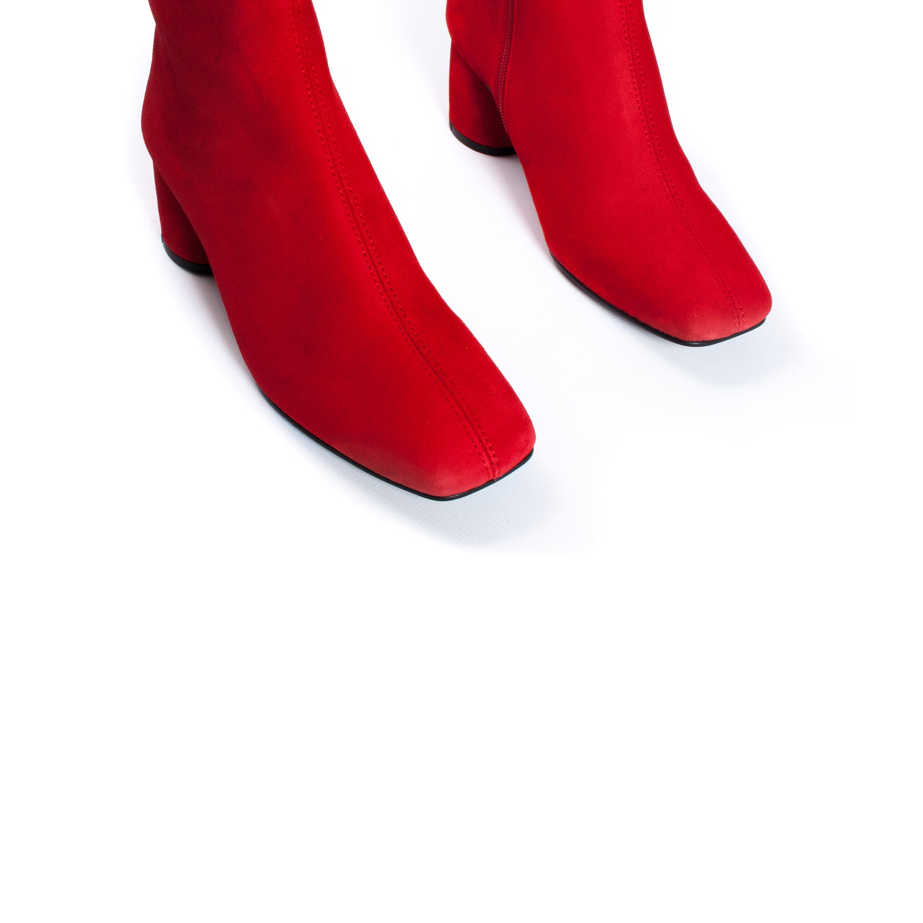 Davenport Red Suede