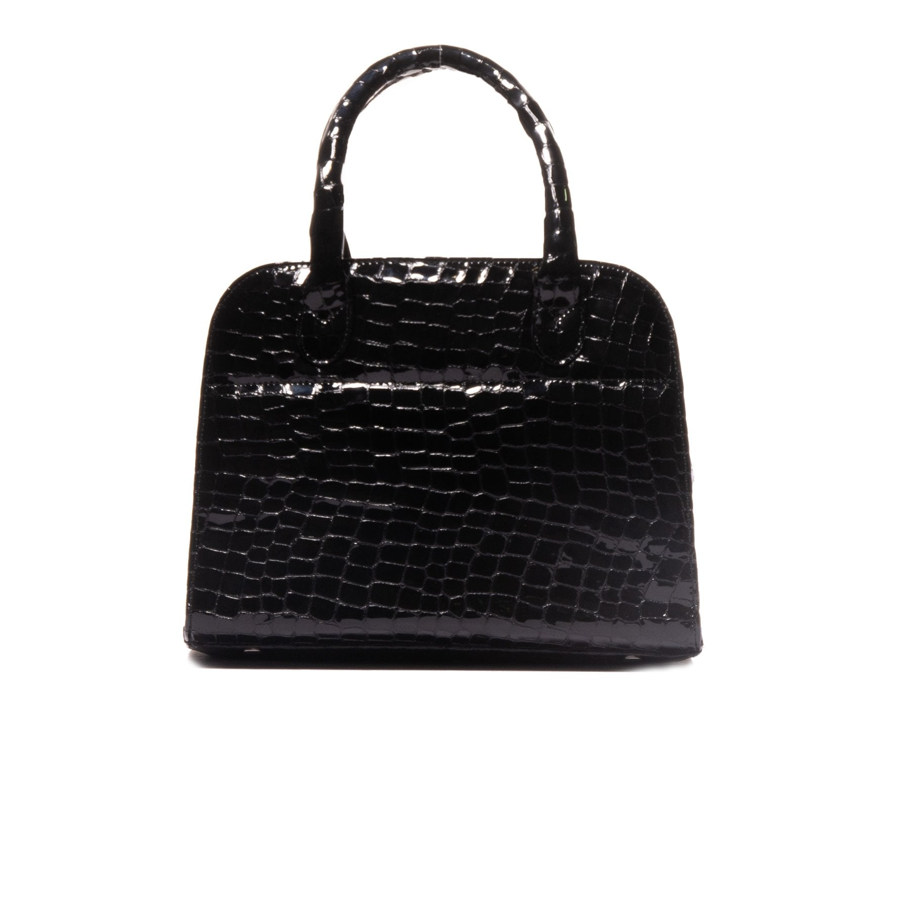 Dominique Black Croco