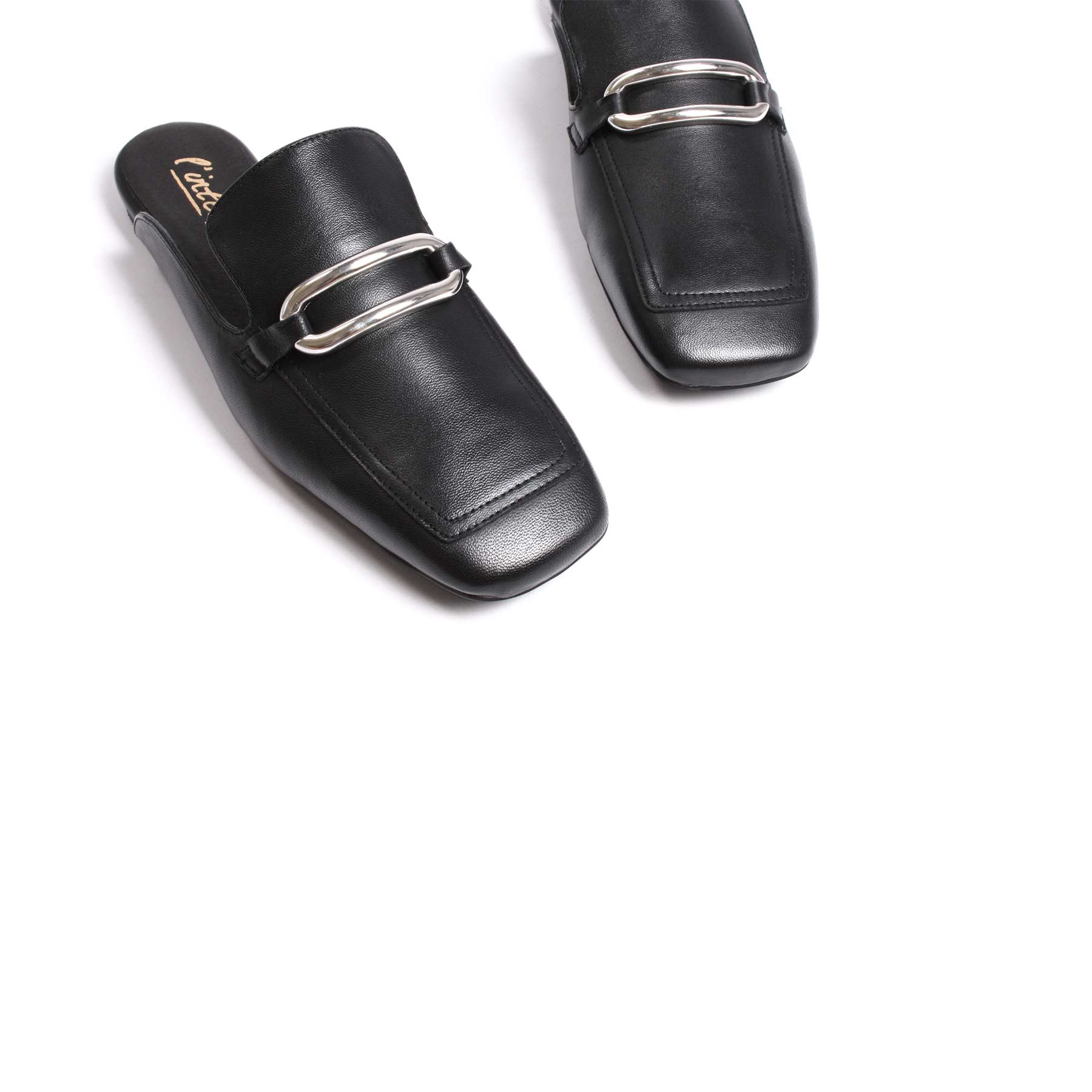 Eru Black Leather