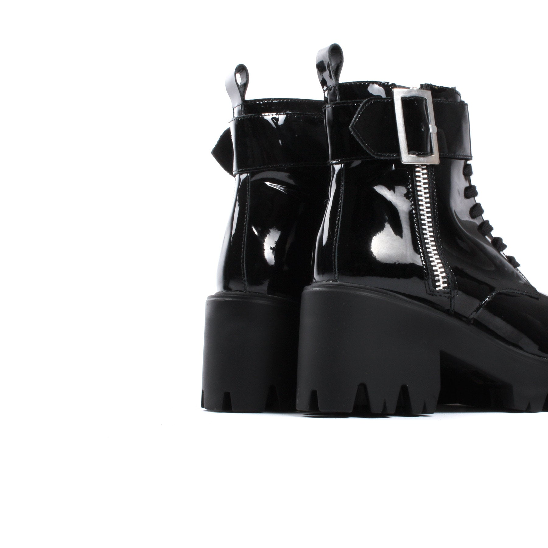 Freemont Black Patent Leather