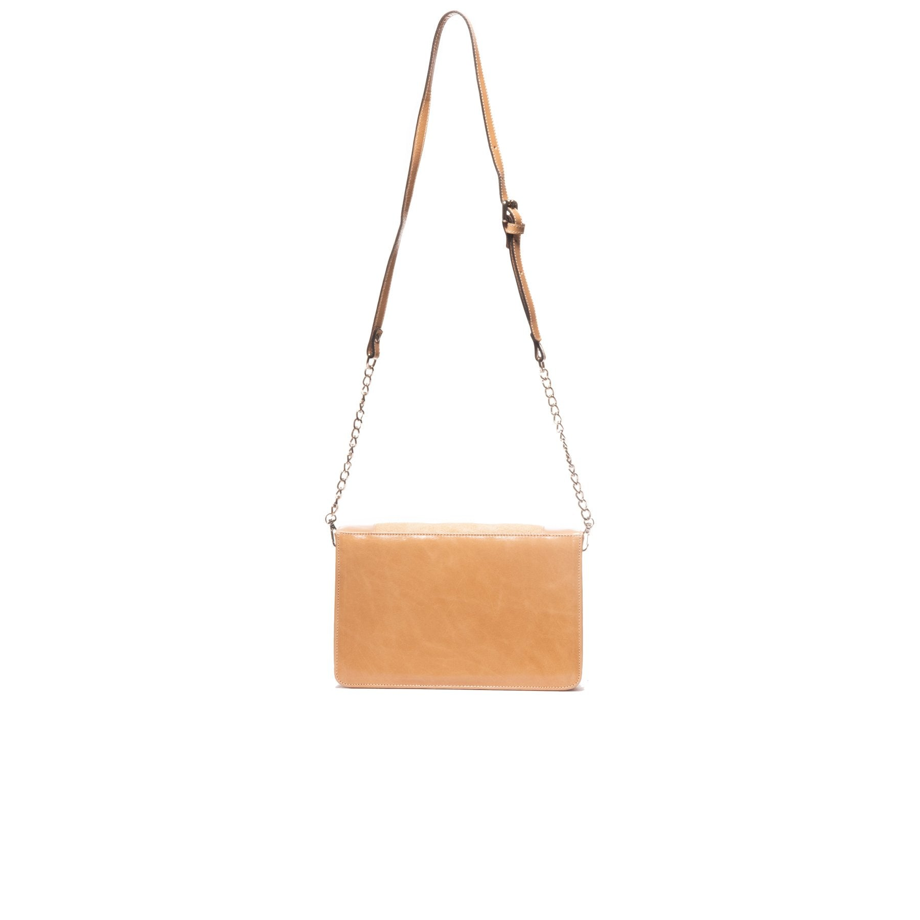 Georgie Nude Leather