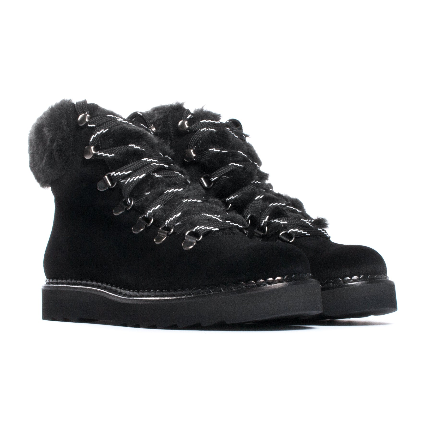 Holly Black Suede