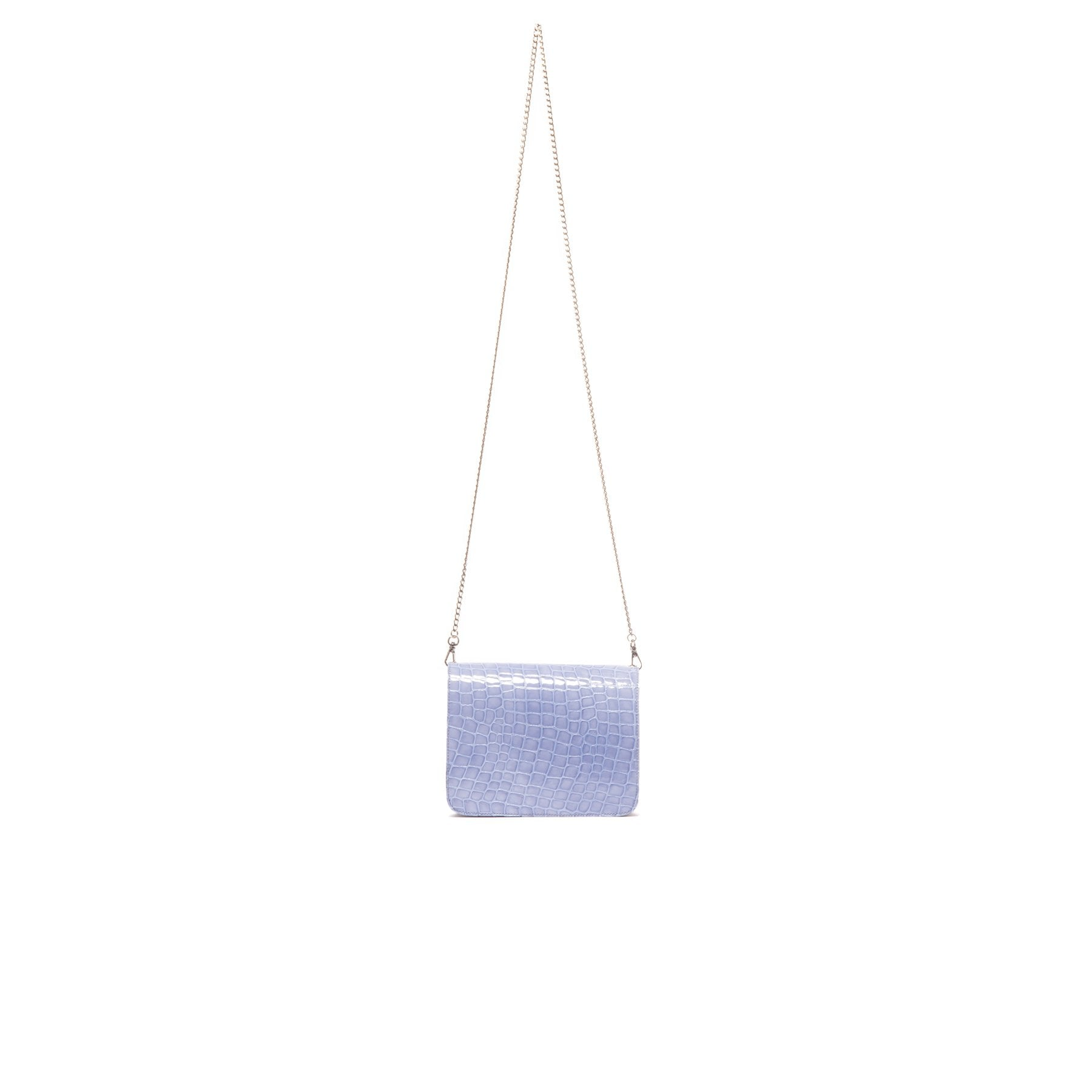 Matine Blue Croco Mini Bag