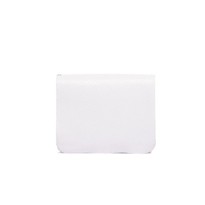Matine White Snake Mini Bag