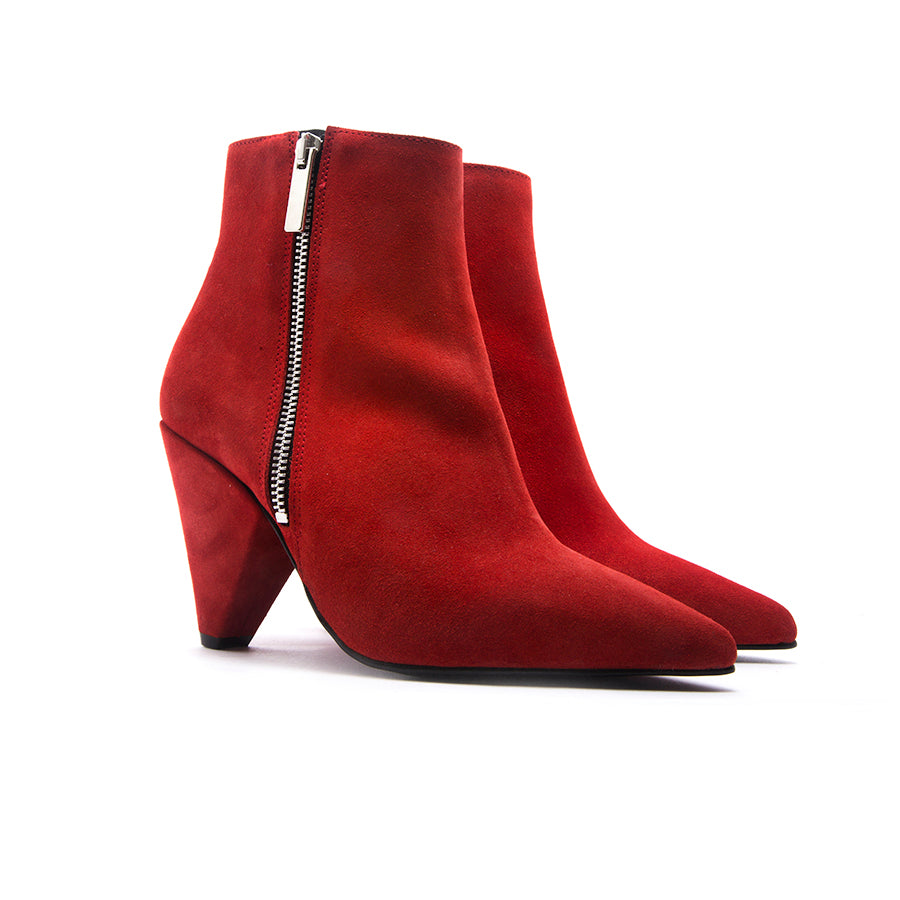 Melbourne Red Suede
