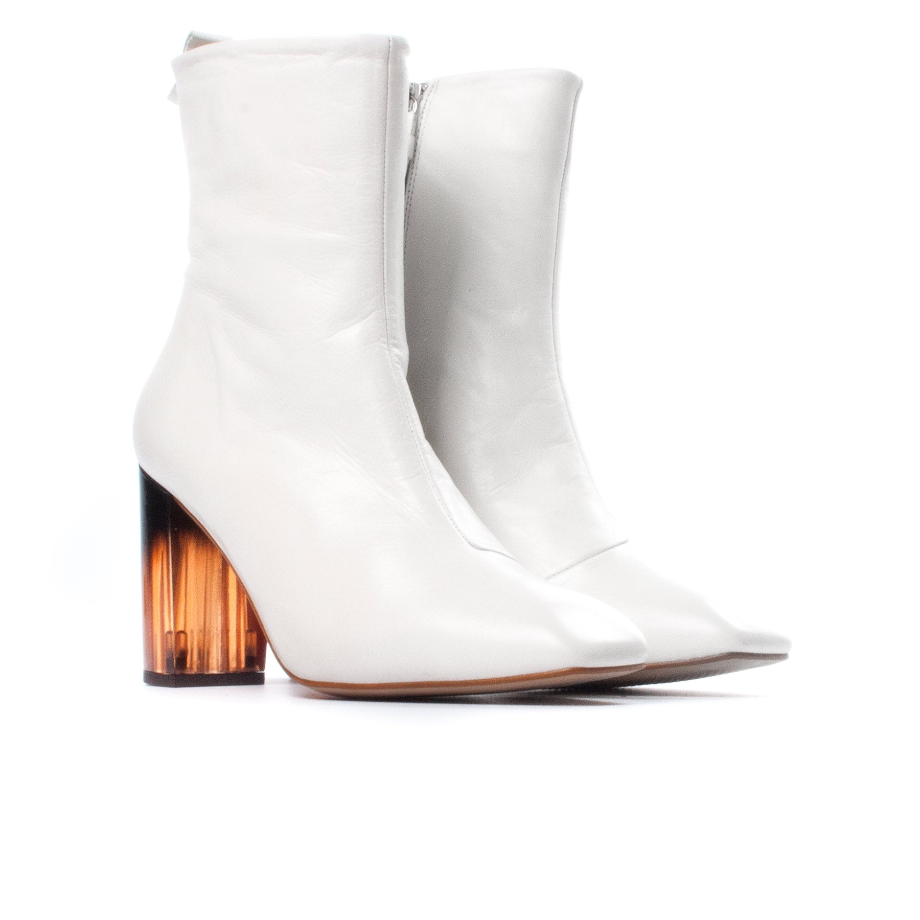 Nerina Off White Leather