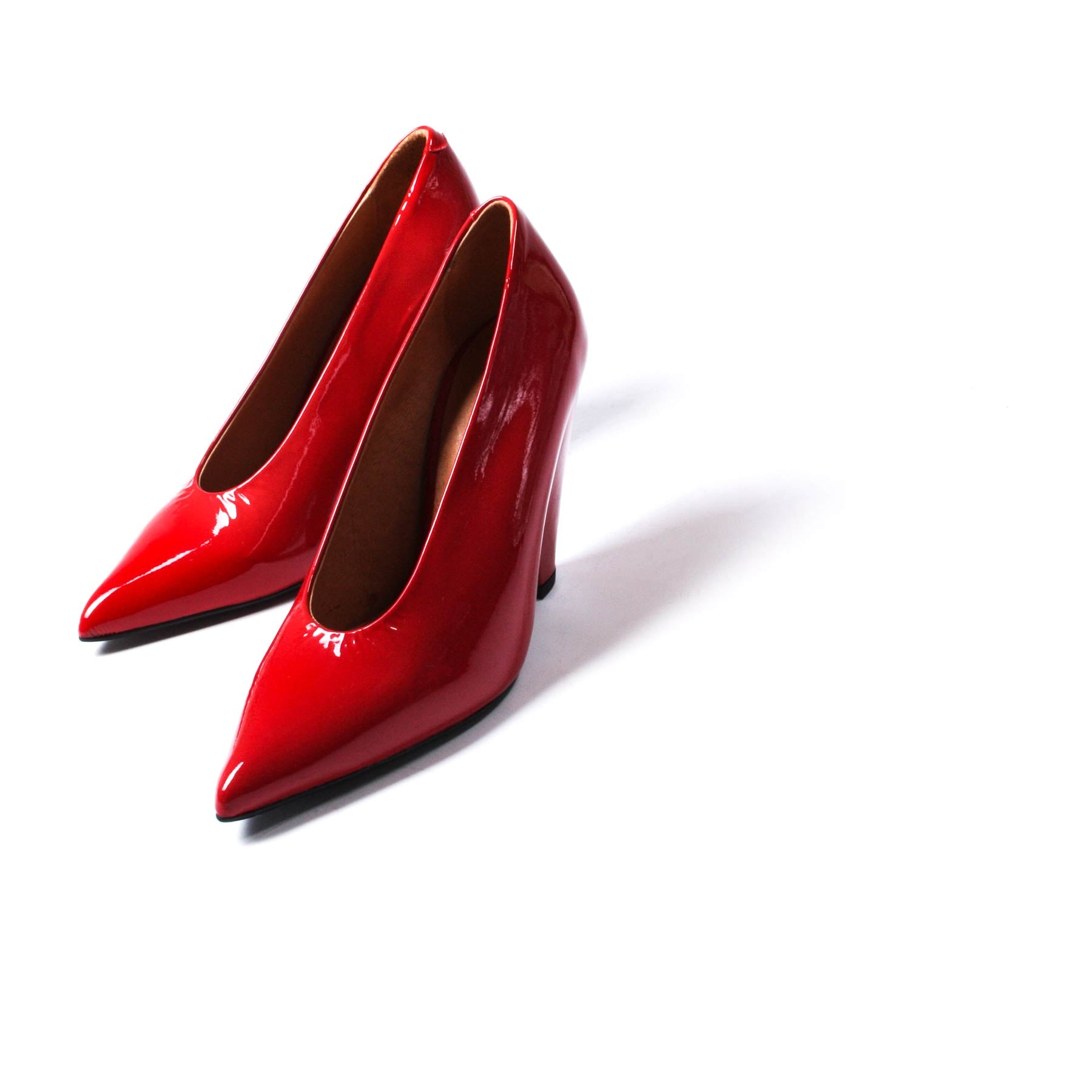 Omatu Red Patent Leather