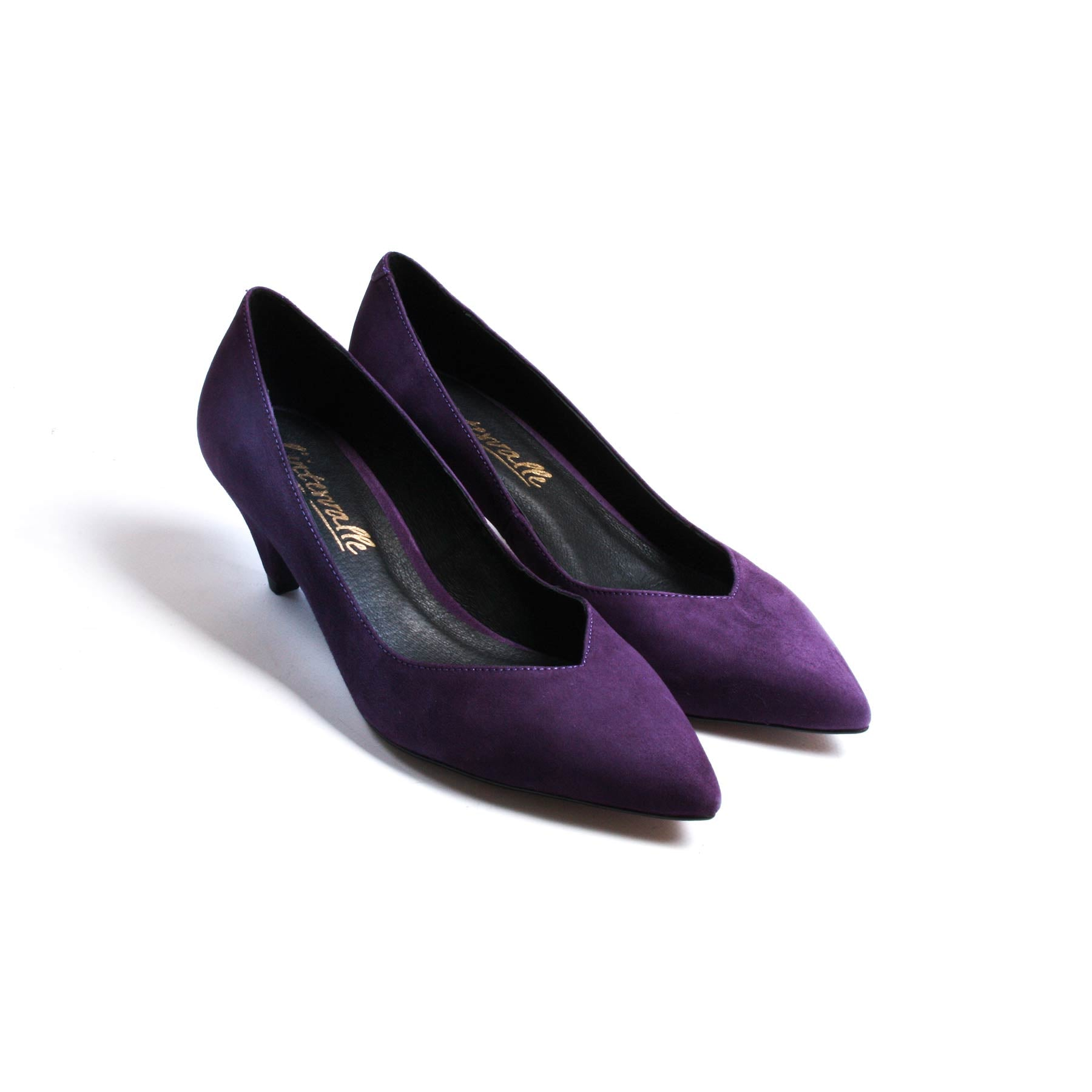 Perseo Purple Suede