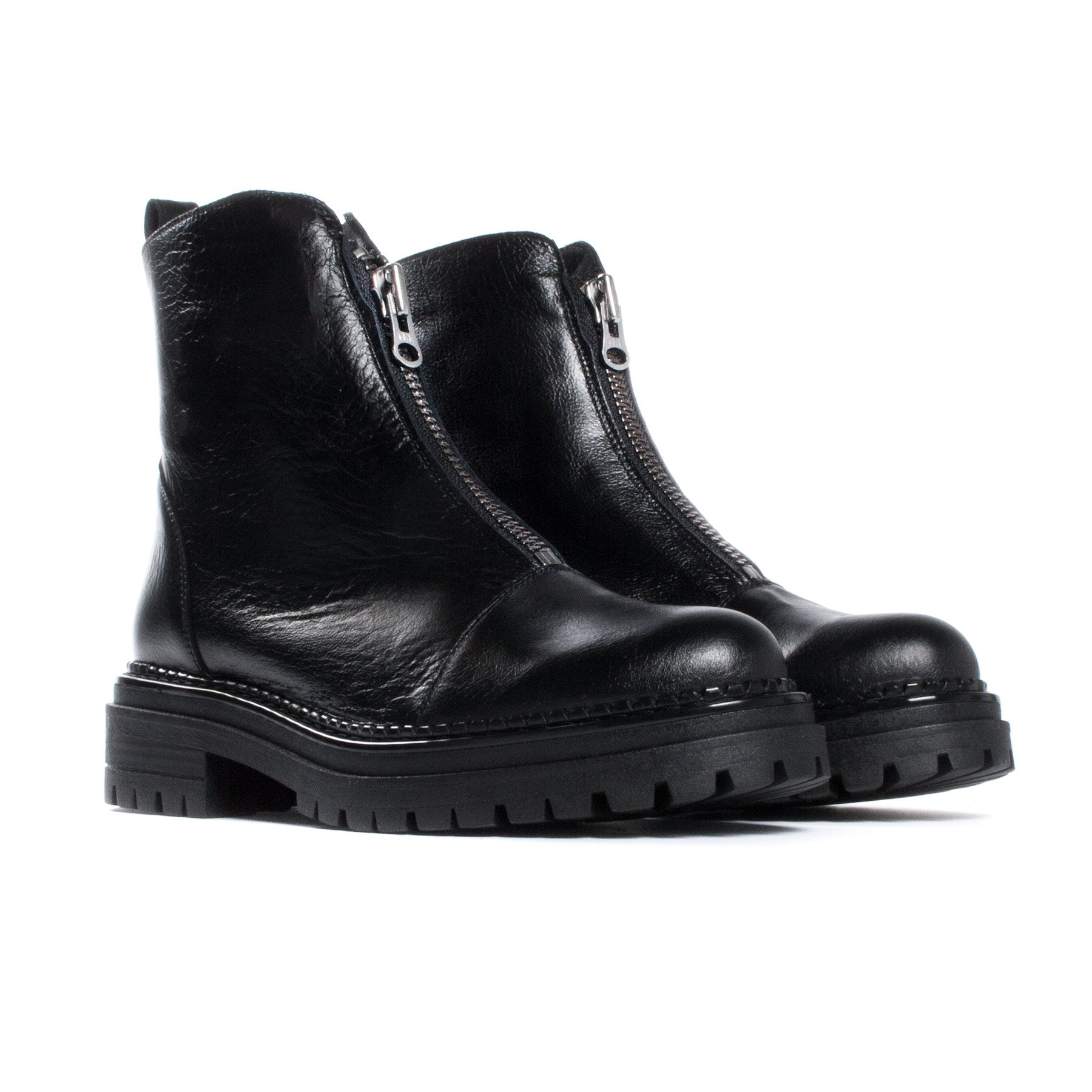 Rohan Black Leather