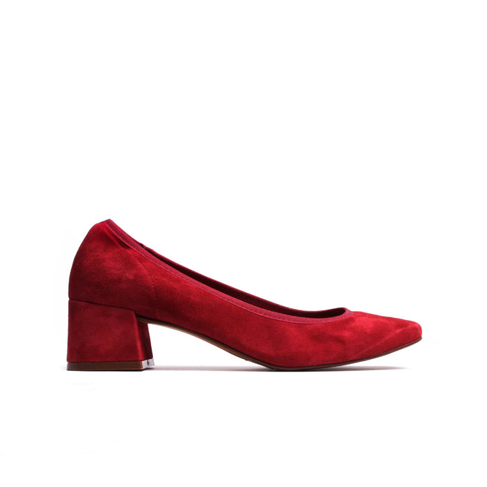 Russell Red Suede