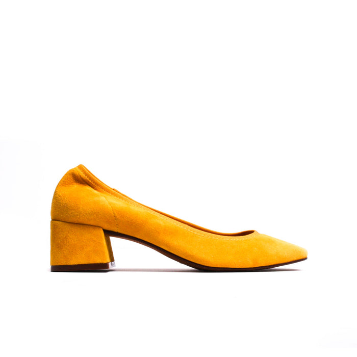 Russell Yellow Suede