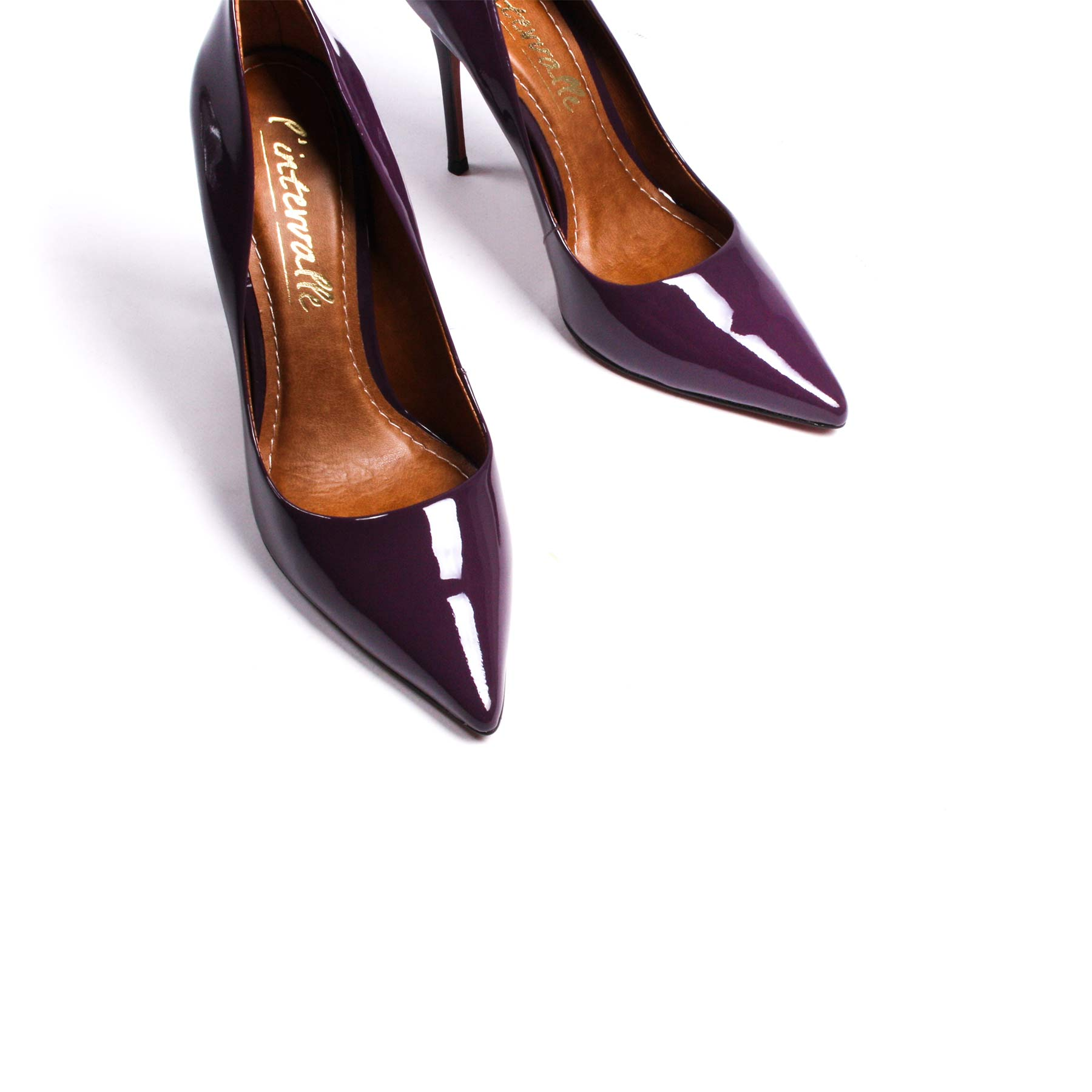 Teeva Purple Patent Leather