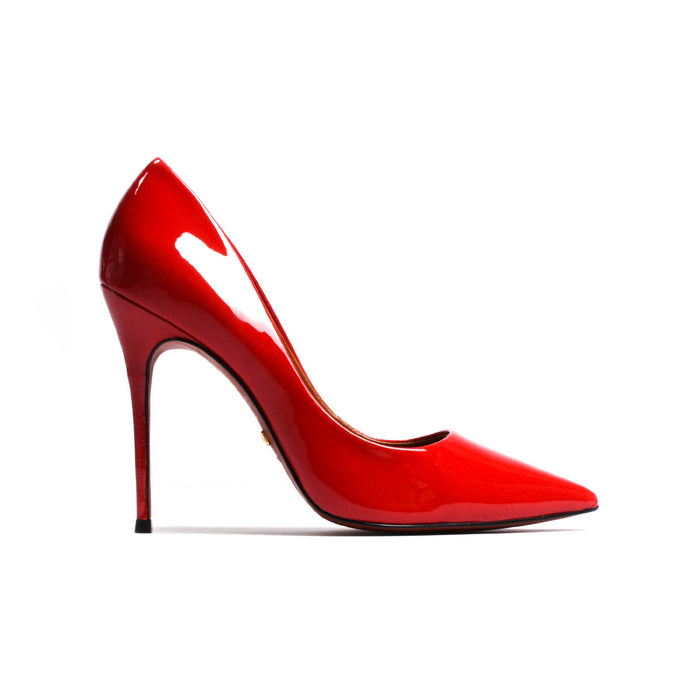 Teeva Red Patent Leather