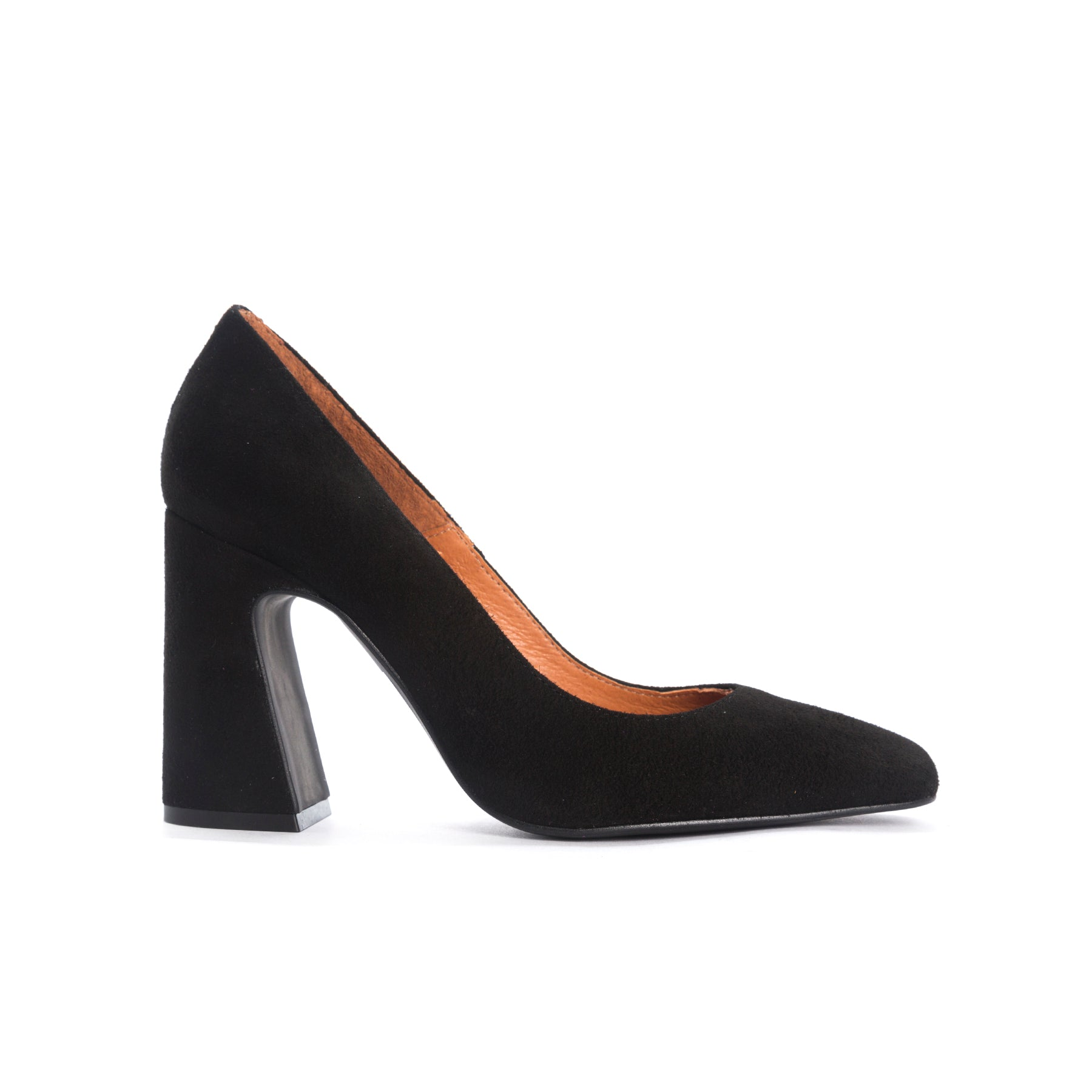 Thalia Black Suede Pumps