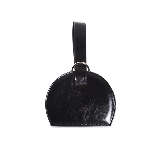 Amelie Black Leather Mini Bags