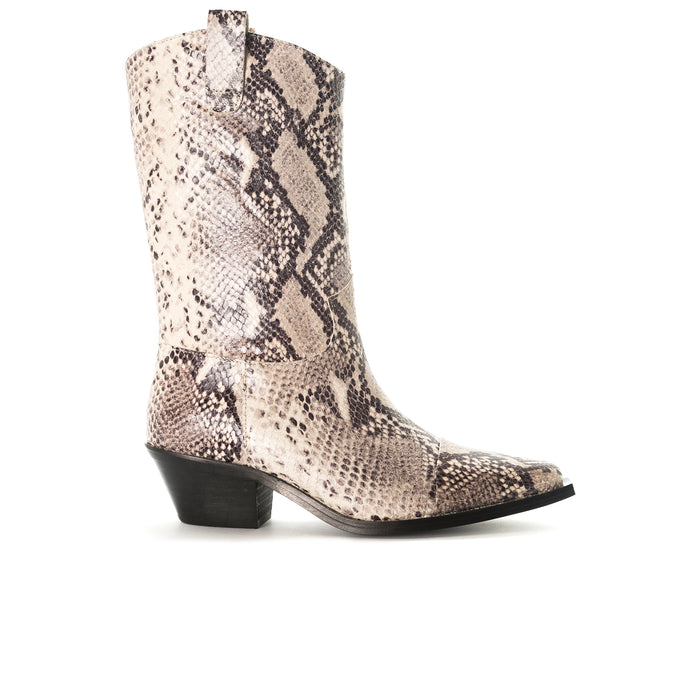 Annamaria Natural  Snake Booties