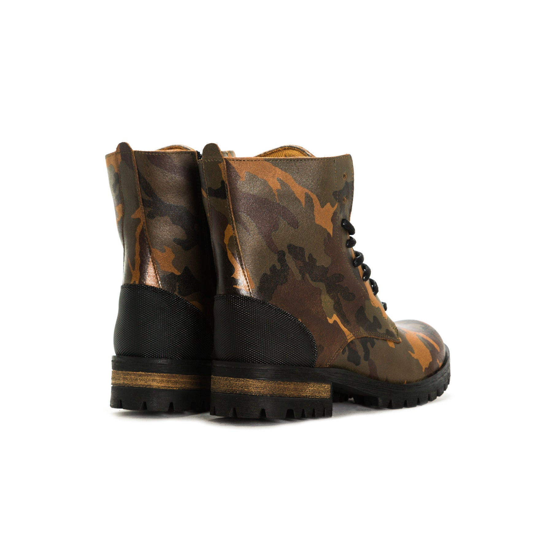 Ashor Camouflage Leather