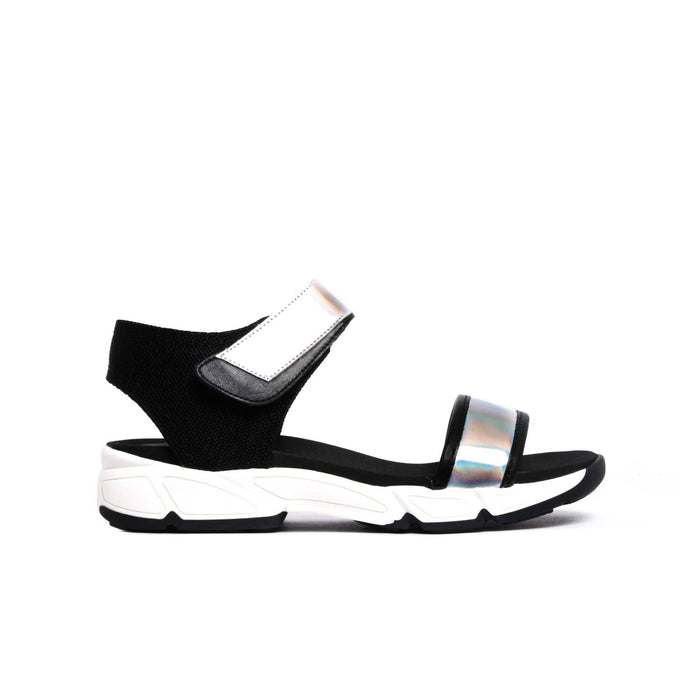 Sandals, Asteri Holographic - Lintervalle shoes for woman
