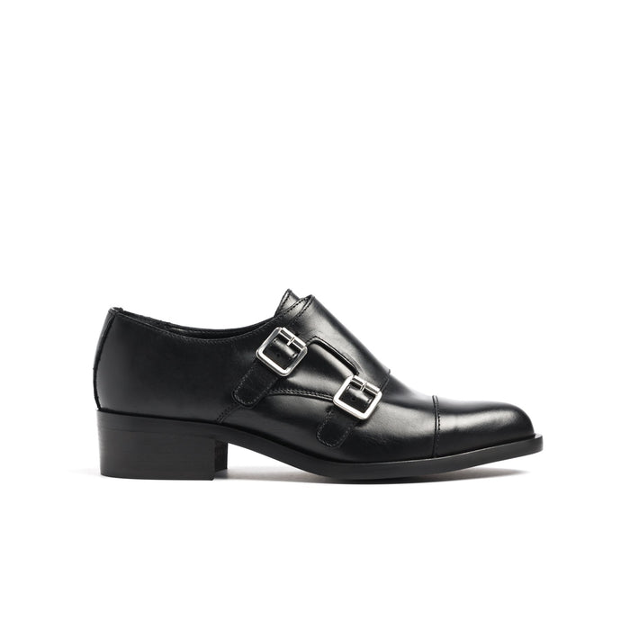 Bailey Black Leather
